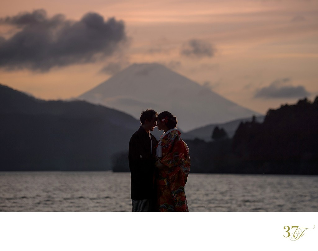 Mt Fuji Elopement Photographer