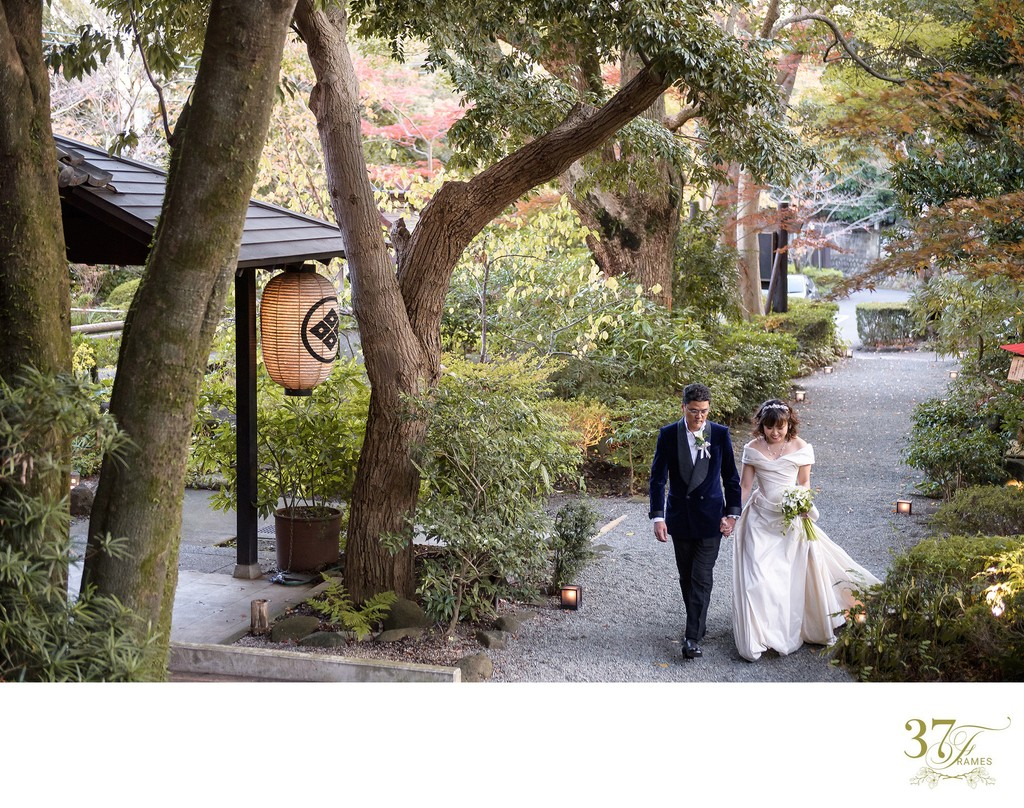 Japan Destination Wedding | Jinya
