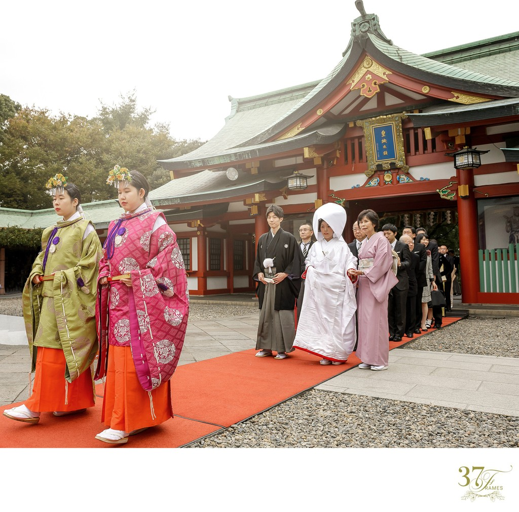 Hie Jinja Wedding Ceremony