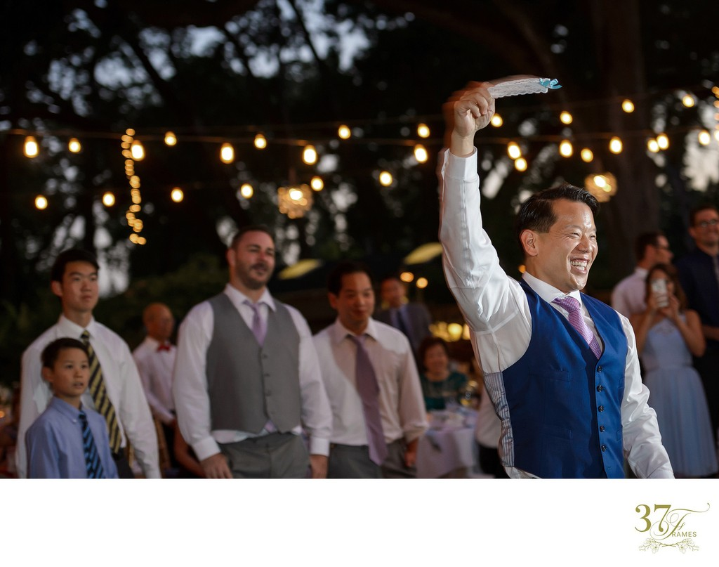 Wedding Traditions and Customs | The Garter Toss