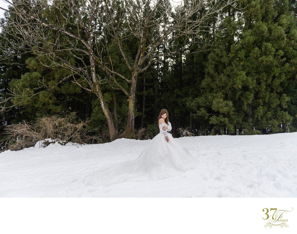 A Winter Elopement in Yuzawa, Japan