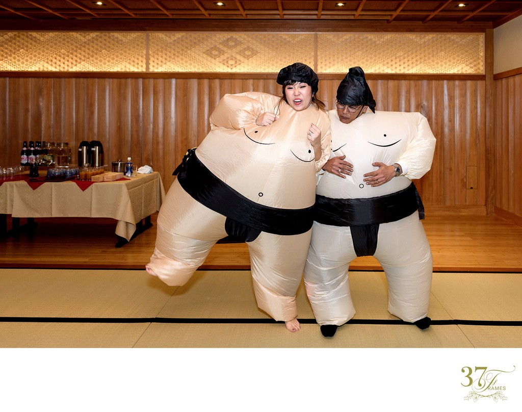 Sumo Wrestling Wedding Game | Tokyo Wedding Planners