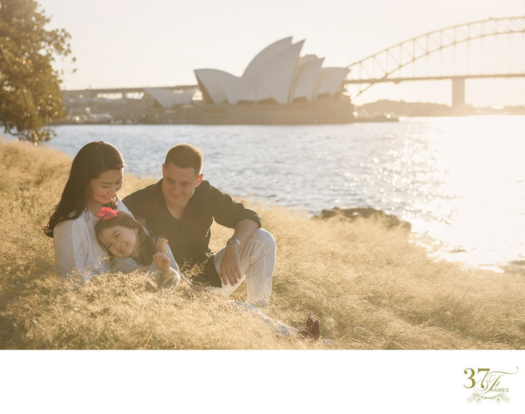 Iconic Family Photos in beautiful afternoon light