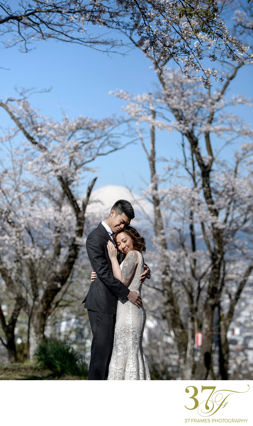 Mt Fuji Elopement Wedding