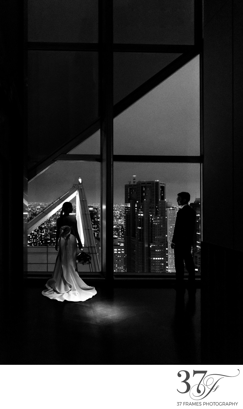 Best Tokyo Wedding Venue with Night View