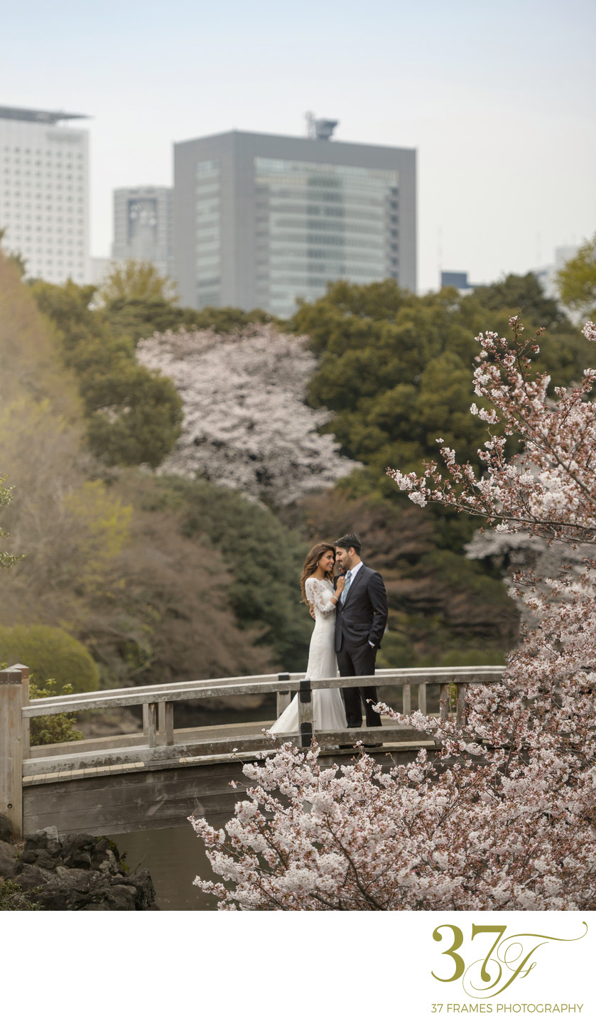 A Destination Wedding in Japan goes Beyond Expectation
