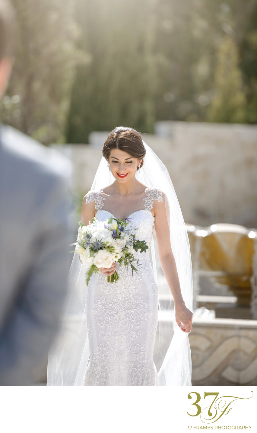 First Look | Destination Wedding Photography Cyprus