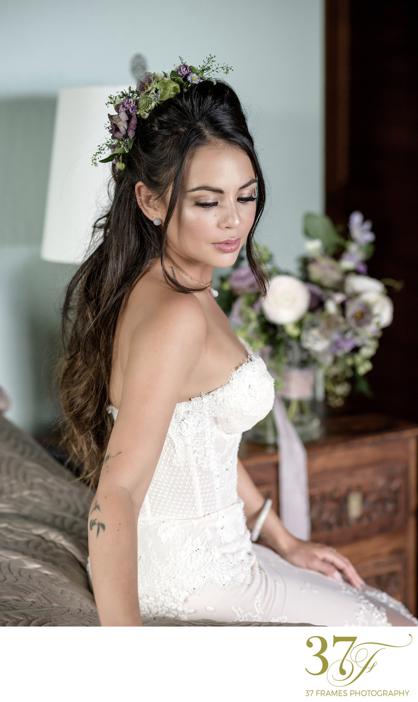Janel Parrish Wedding Dress