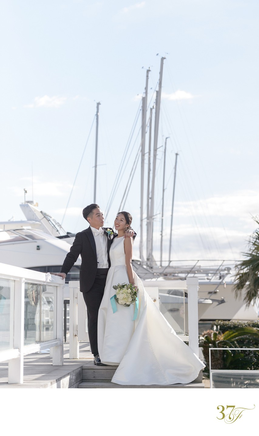 A Beautiful Wedding at Zushi Marina