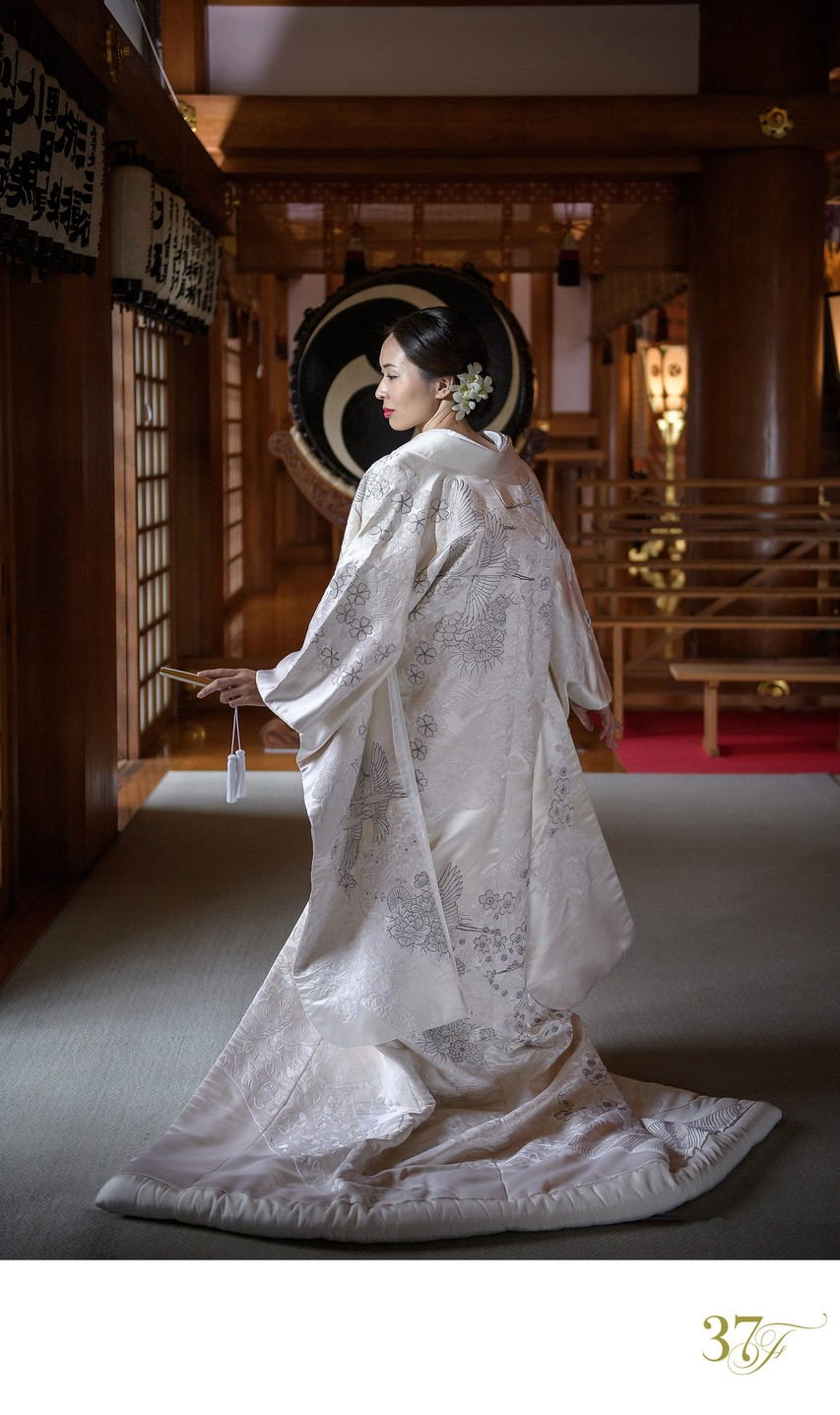 Best wedding photos from Japan