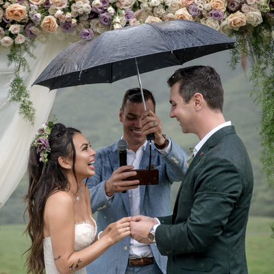 Janel Parrish Wedding Photographs