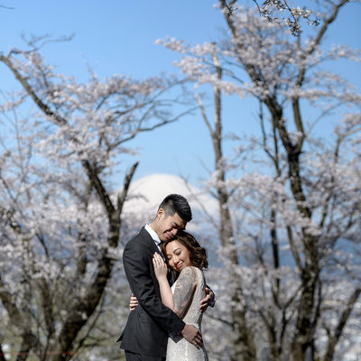 Mt Fuji Wedding
