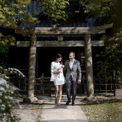 Elopement at the Italian Embassy in Tokyo