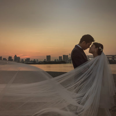 Odaiba Beach Wedding