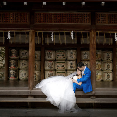 Wedding places off the beaten tourist path in Japan