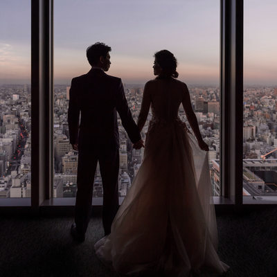 Elopement Wedding at the Mandarin Oriental Hotel Tokyo