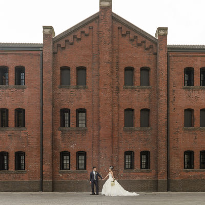 Yokohama Pre-Wedding | Red Brick Warehouse