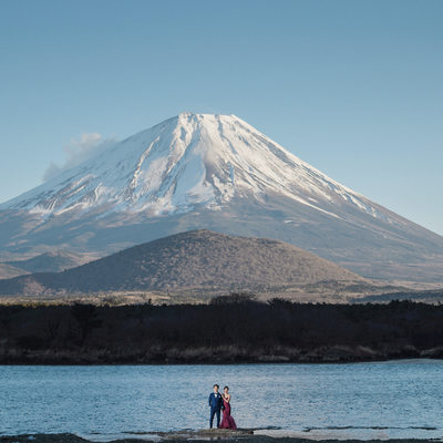 Planning an Elopement at Mt Fuji