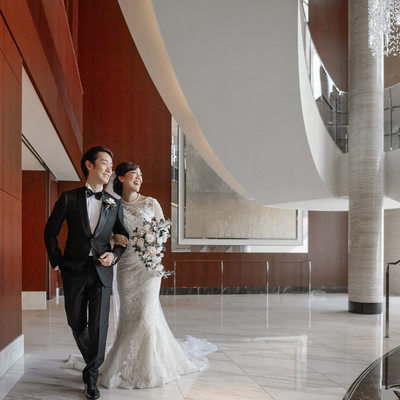 A Dream Wedding at the Shangri-la Tokyo