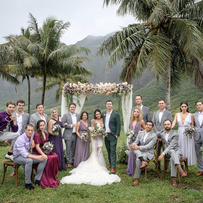 Wedding Movie Locations at Kualoa Ranch