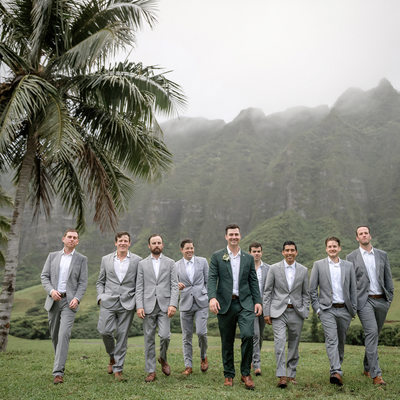 Jumanji Wedding Location at Kualoa Ranch