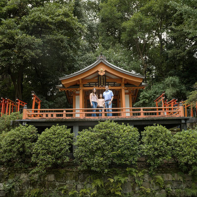 Family Mini Sessions at Nezu Shrine