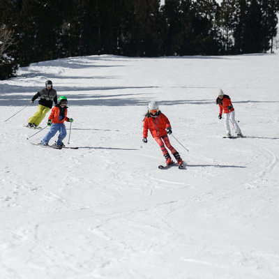 The Family That Skis Together | Tokyo Vacation Photos