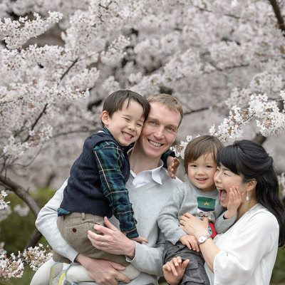 Cherry Blossom Family Photo Packages
