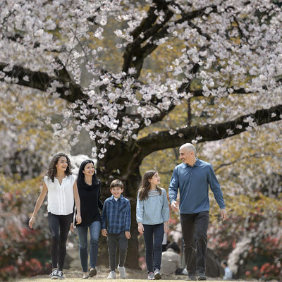 Tokyo Family Photography in Spring