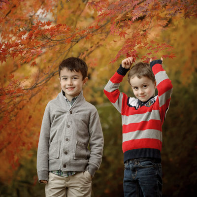Is Autumn the best time of year for Family Portraits?