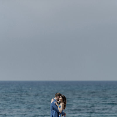 Engagement Photos by the Ocean | Japan Photographer