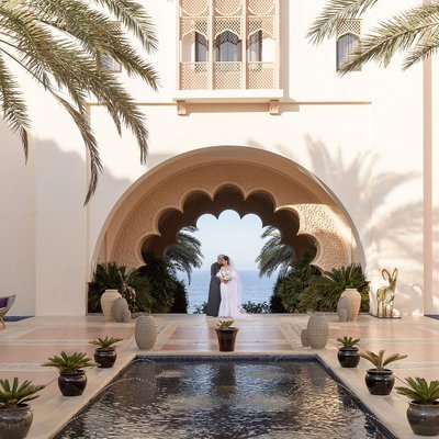 Wedding in Oman at Shangri-La Barr Al Jissah