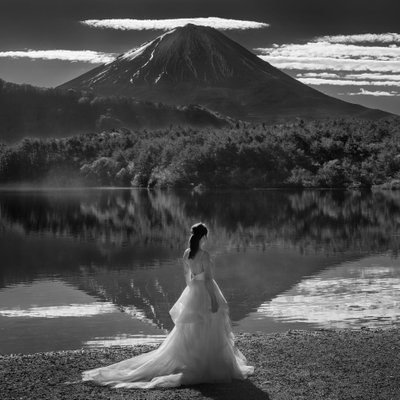 Mt Fuji Private Island Elopement