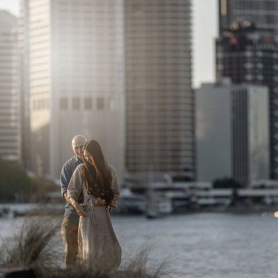 Brisbane Engagement Photography | Skyline Love