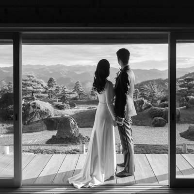 Private Japanese Garden Wedding Near Kyoto