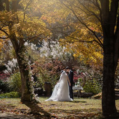 Intimate Autumn Elopement in Karuizawa | Elope in Japan