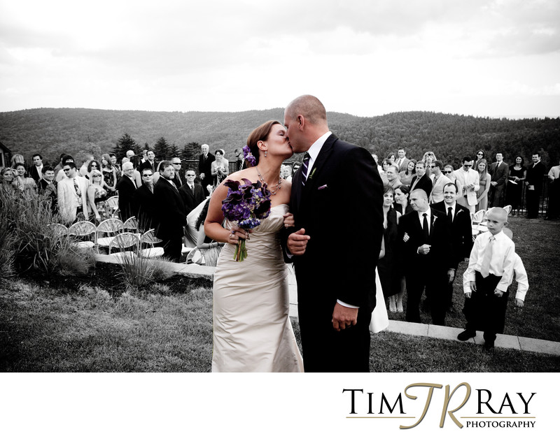 Snowshoe Wedding Photographer - Wedding at Soaring Eagle Lodge
