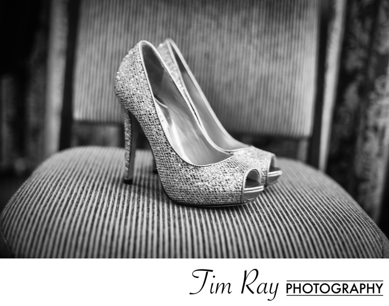 Nothing like a beautiful pair of Jimmy Chou shoes on your wedding day