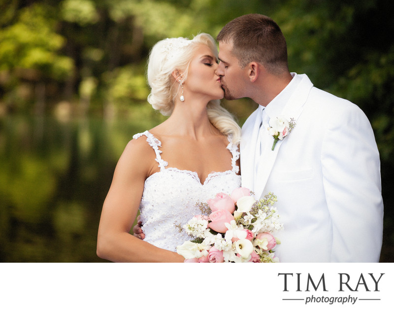 Lake Stephens Wedding photography in Beckley WV by top WV Wedding Photographer Tim Ray