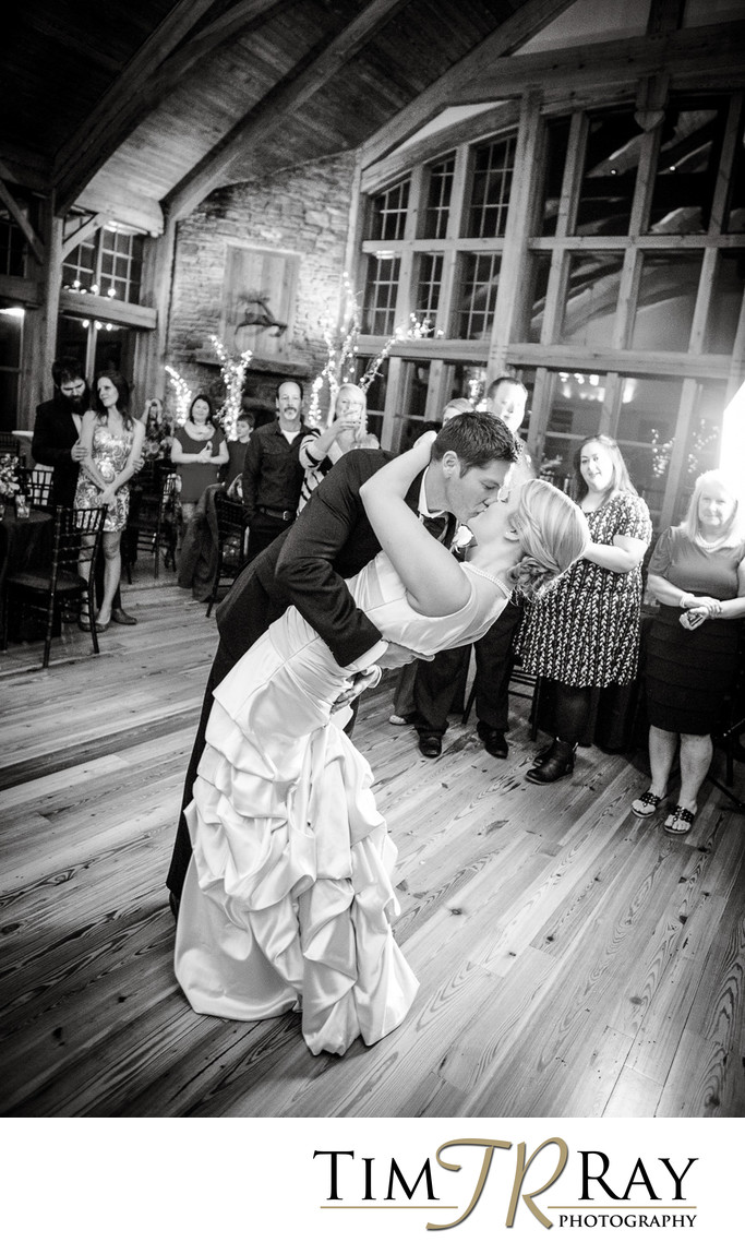 Snowshoe Wedding photographer - first dance Soaring Eagle Lodge
