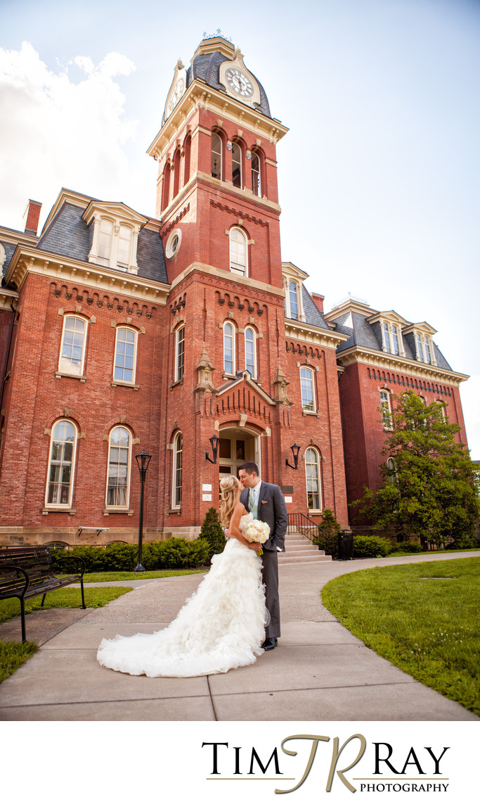 Morgantown Wedding Photography at Woodburn Hall