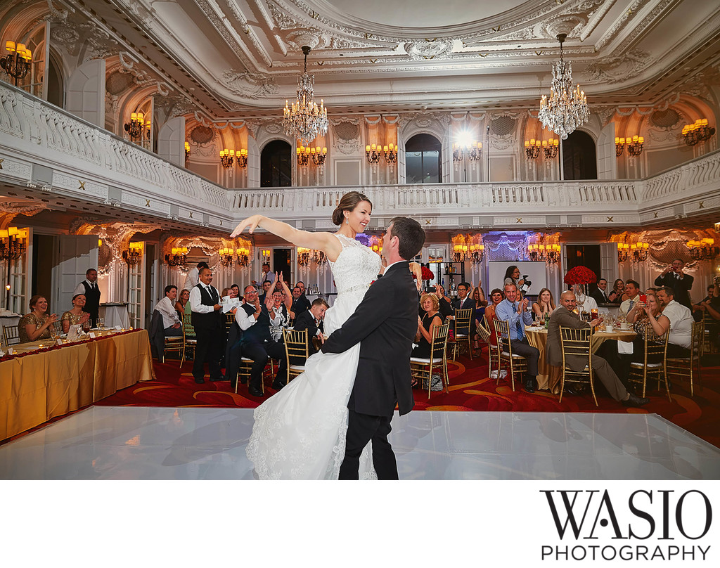 Choreographed First dance, Blackstone Hotel