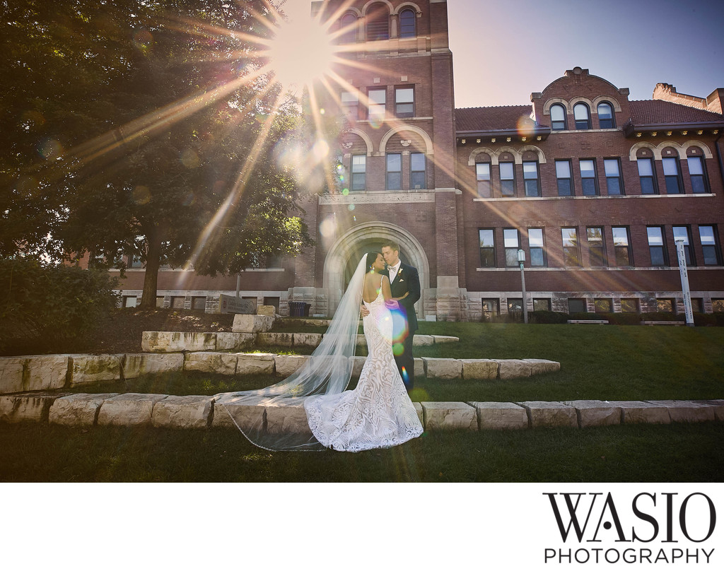 Loyola University Wedding photographer