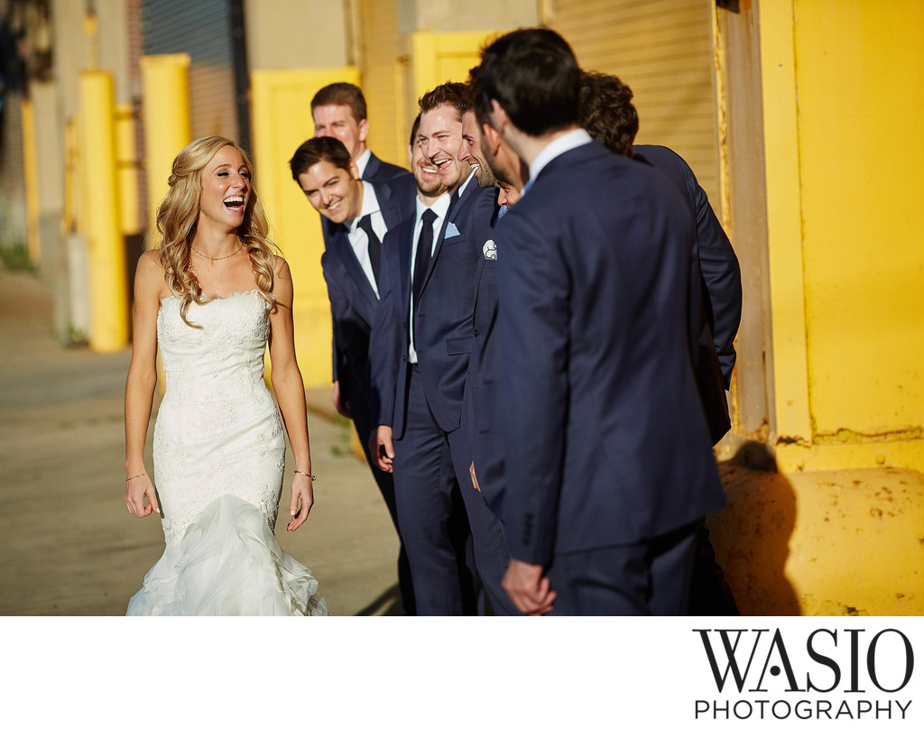 West Loop Chicago Wedding