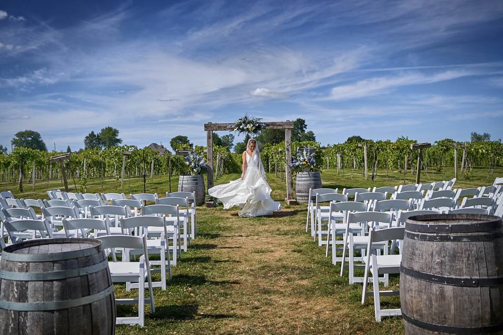 Chicagoland Vineyard wedding photography