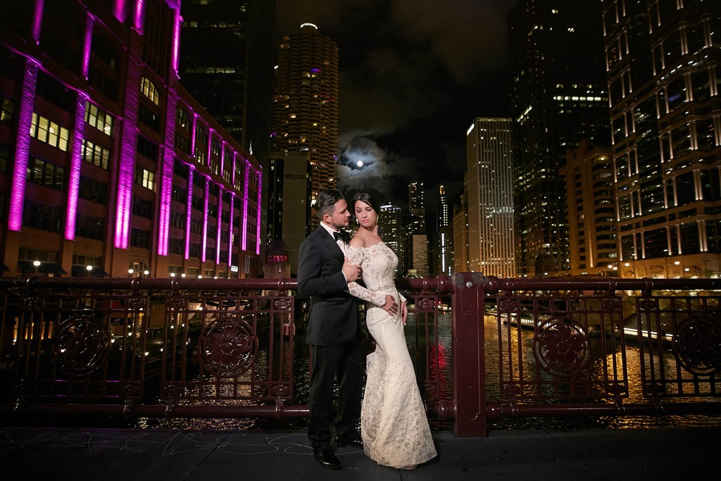 Wedding at the River Roast, Chicago