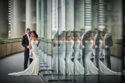 Trump Tower Chicago Wedding Photos