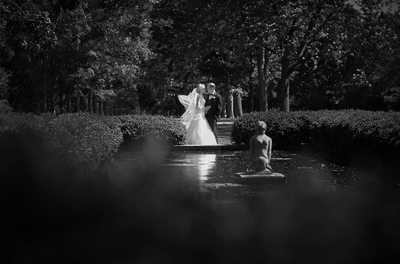 Cantigny Park Wedding