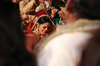 Traditional Indian wedding in Chicago