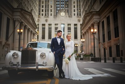 LaSalle Street Wedding